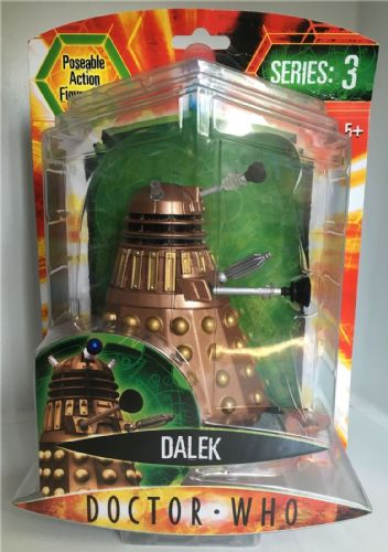Doctor Who - BRONZE DALEK  - Series 3 Figure - DR NEW